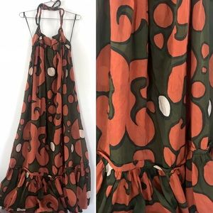 Marimekko H&M tribute mod style retro maxi dress